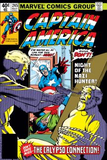 Captain America (1968) #245 Cover