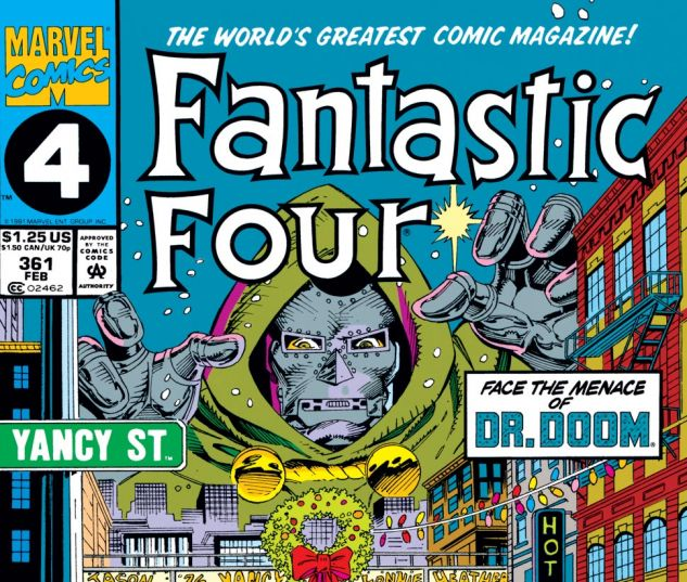 Fantastic Four (1961) #361 Cover