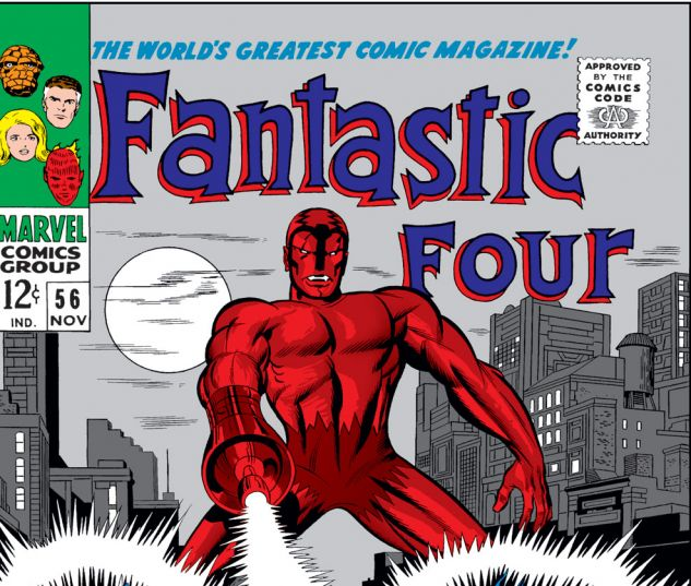 Fantastic Four (1961) #56 Cover