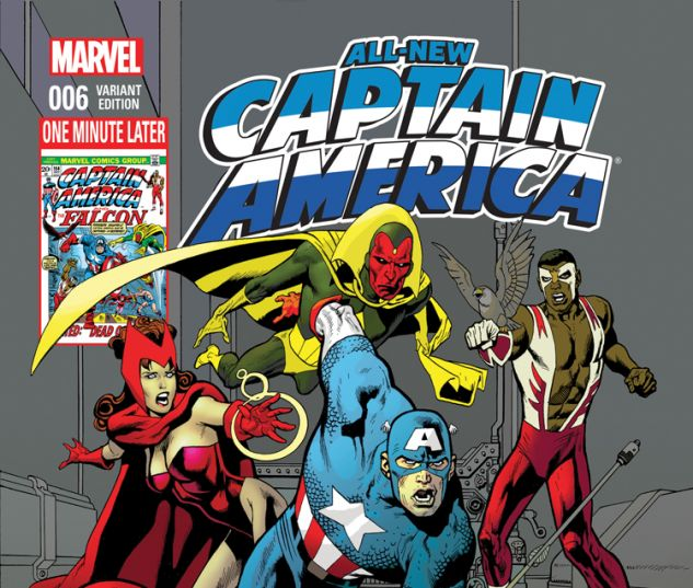 ALL-NEW CAPTAIN AMERICA 6 NOWLAN AVENGERS VARIANT (WITH DIGITAL CODE)