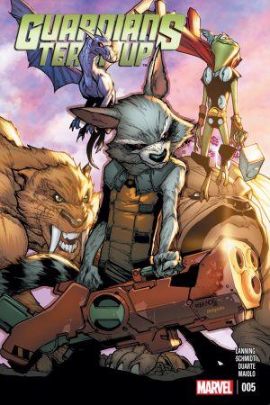 Guardians Team-Up (2015) #5