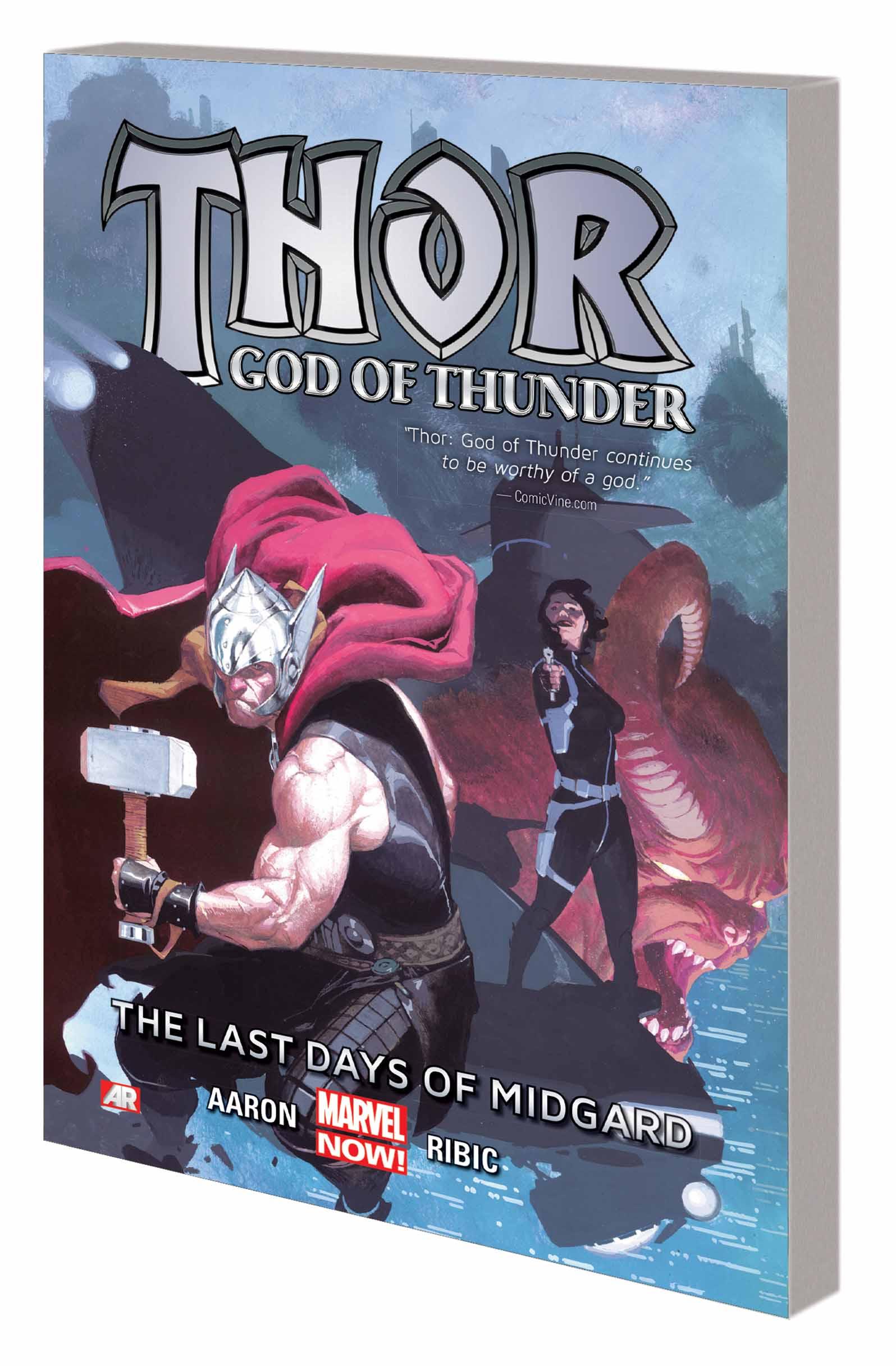 THOR: GOD OF THUNDER - THE LAST DAYS OF MIDGARD (Trade Paperback)