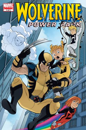 Wolverine and Power Pack (2008) #4