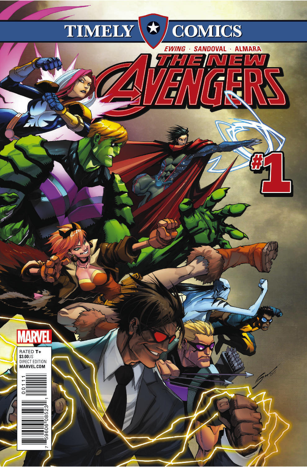 Timely Comics: New Avengers (2016) #1