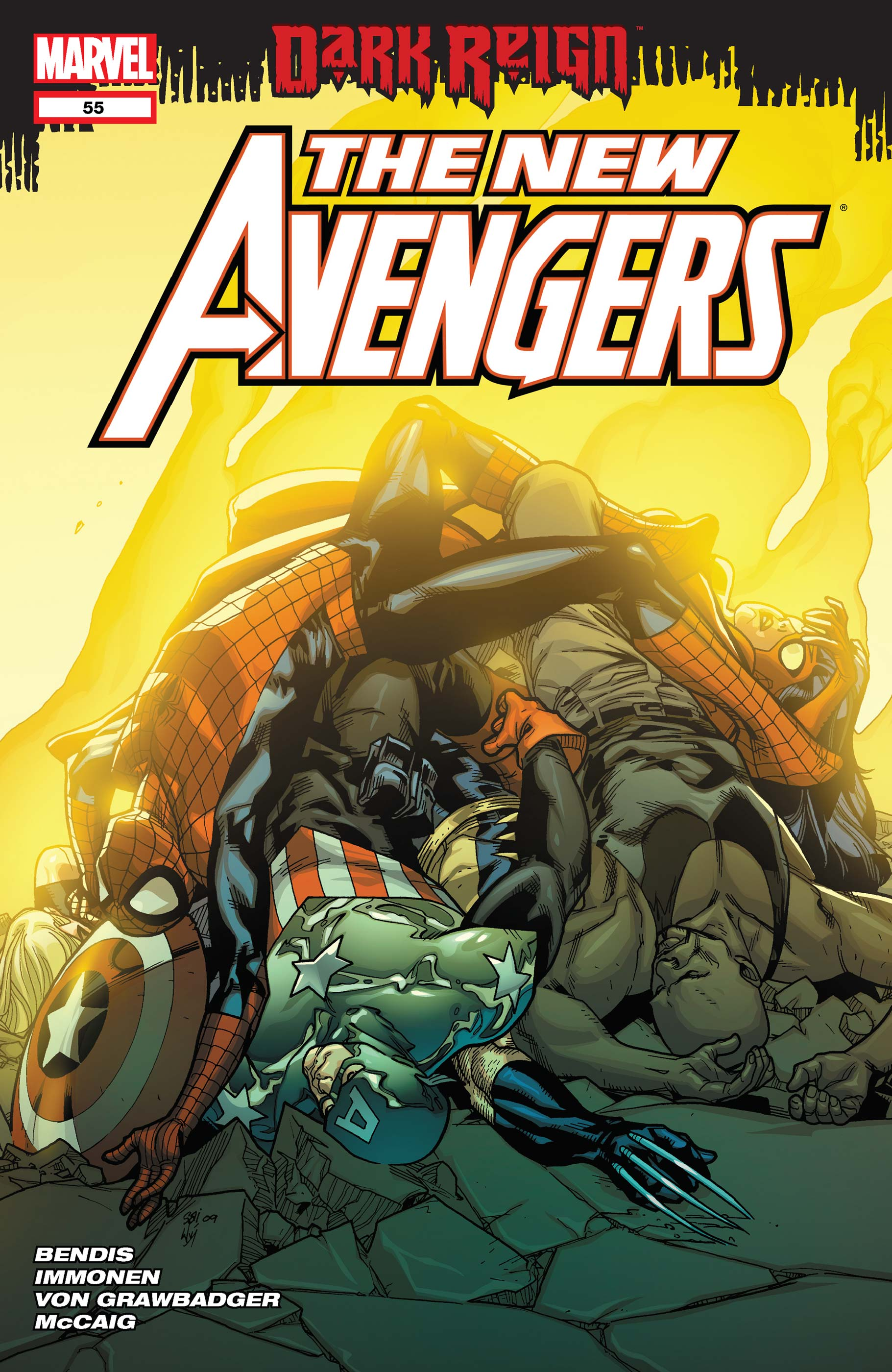 New Avengers (2004) #55