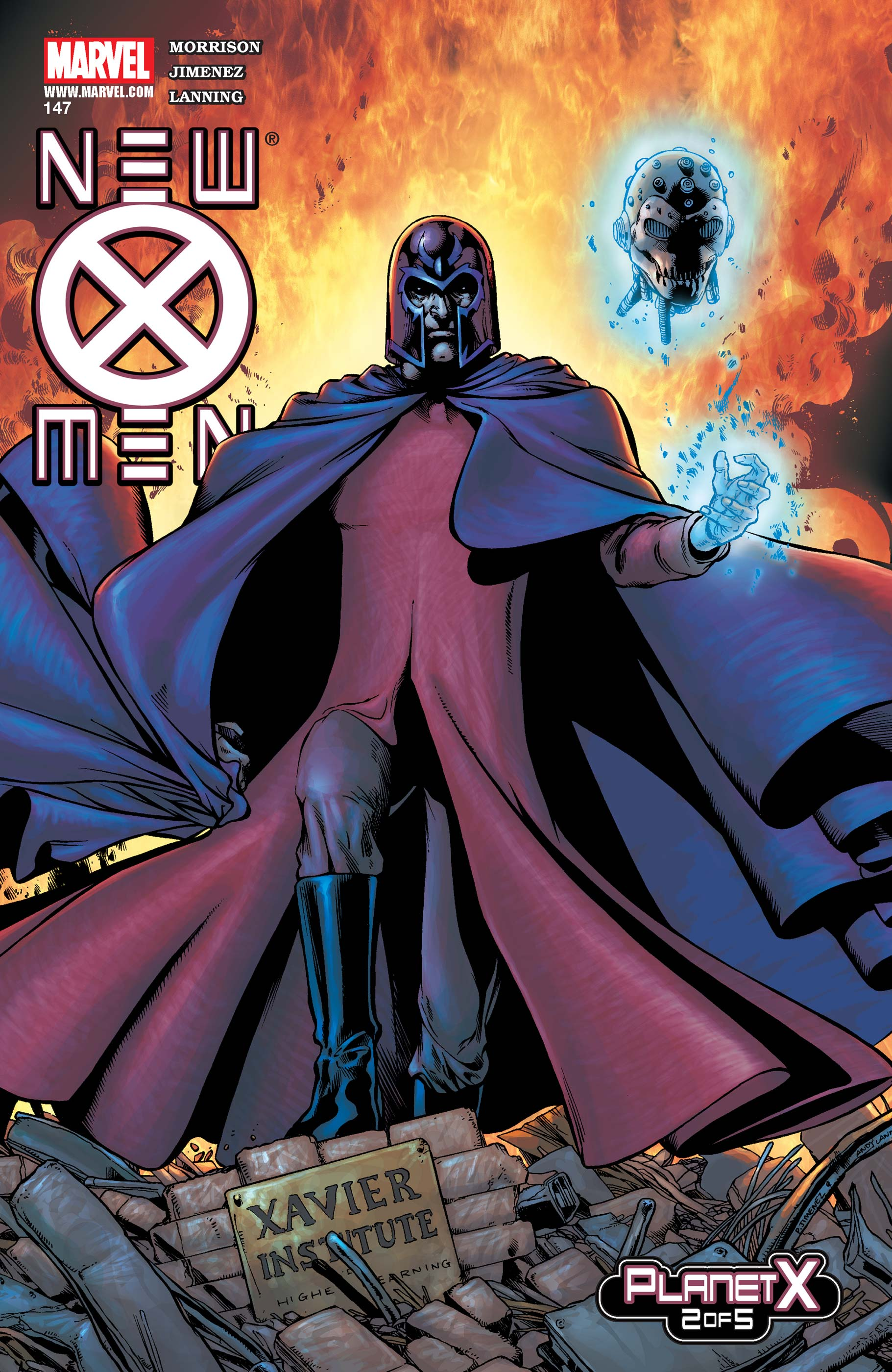 New X-Men #153  Marvel Comic Book
