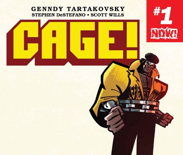 Resultado de imagen para Cage! #1