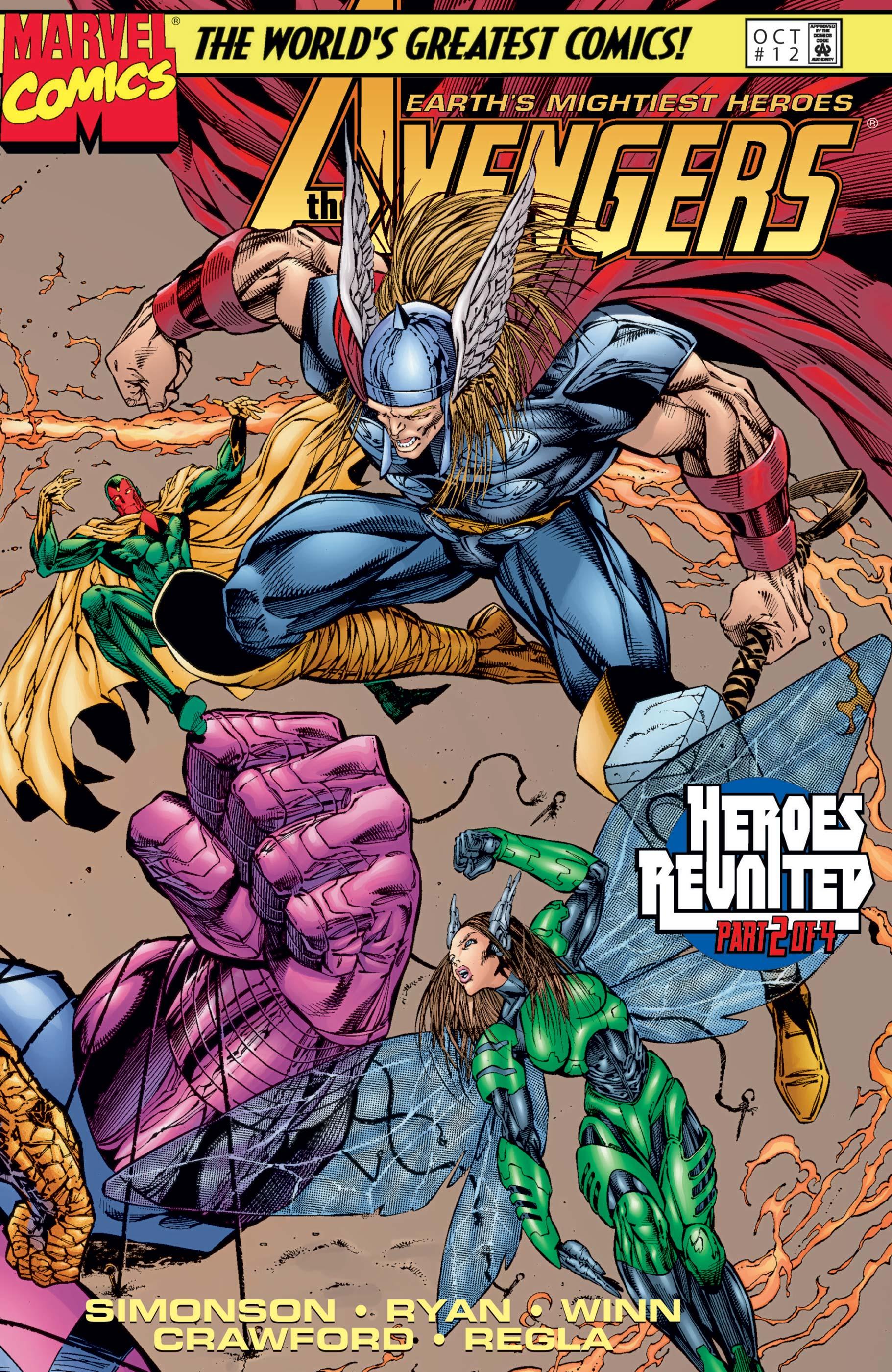 Avengers (1996) #12