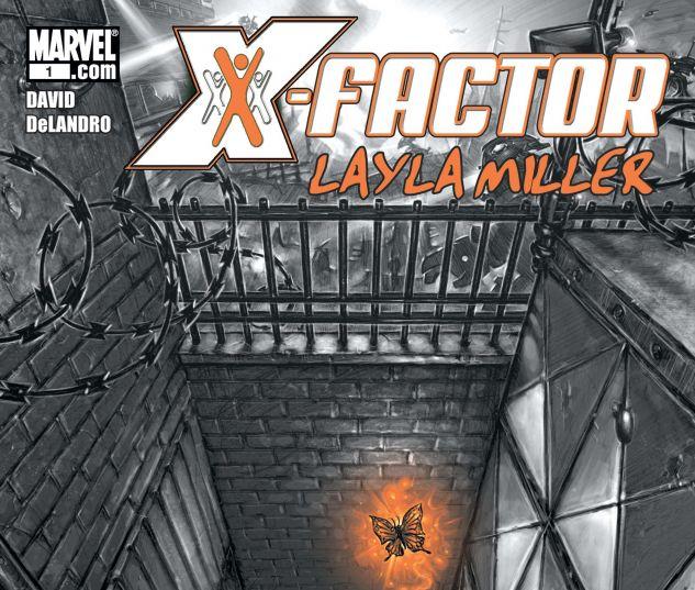 X-Factor: Layla Miller (2008) #1