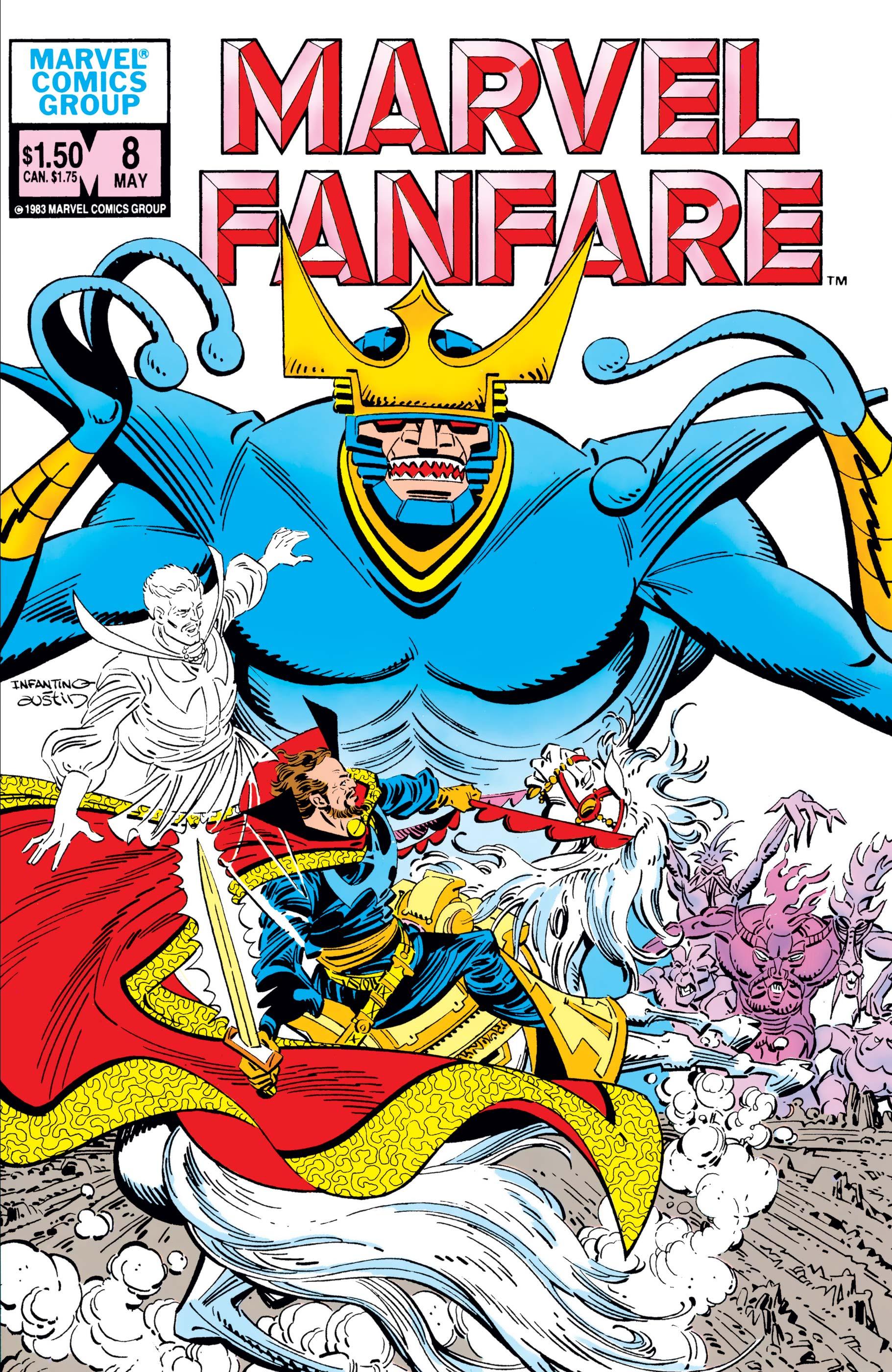 Marvel Fanfare (1982) #8
