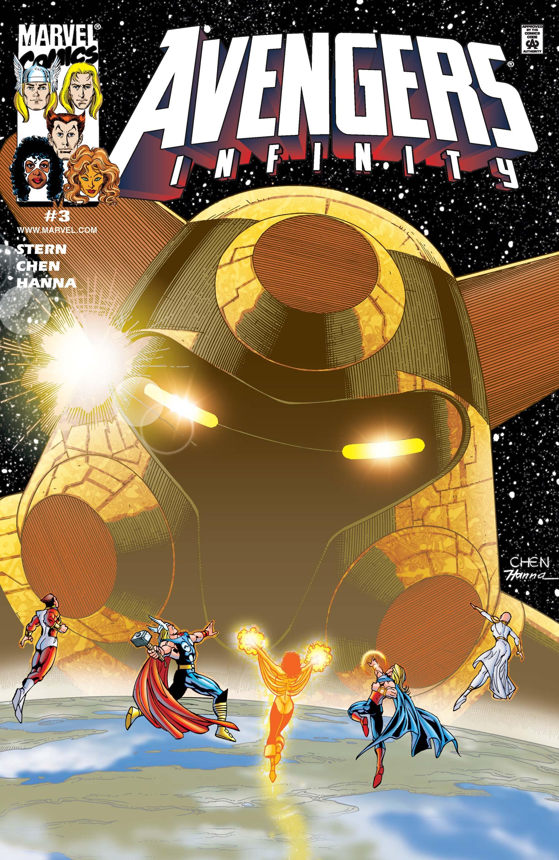 Avengers: Infinity (2000) #3