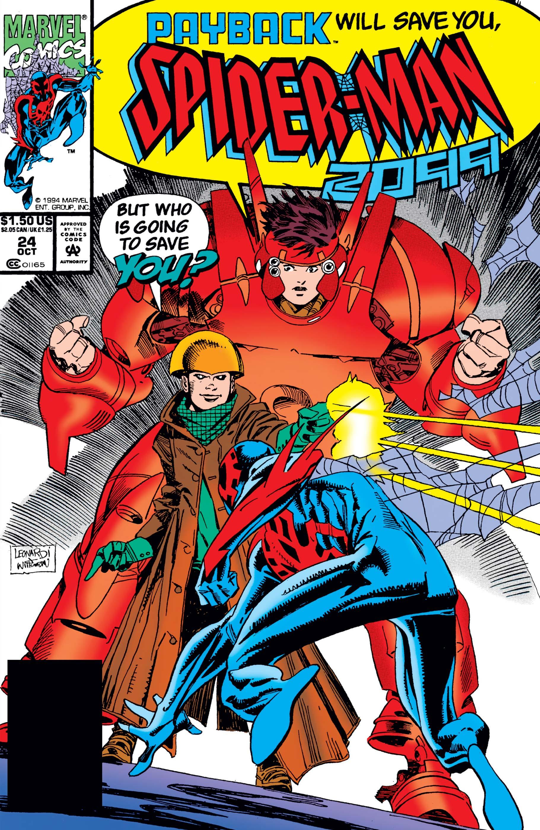 Spider-Man 2099 (1992) #24