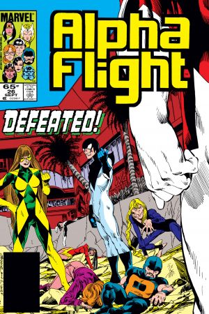 Alpha Flight (1983) #26
