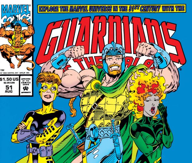 cover to Guardians of the Galaxy (1990) #51