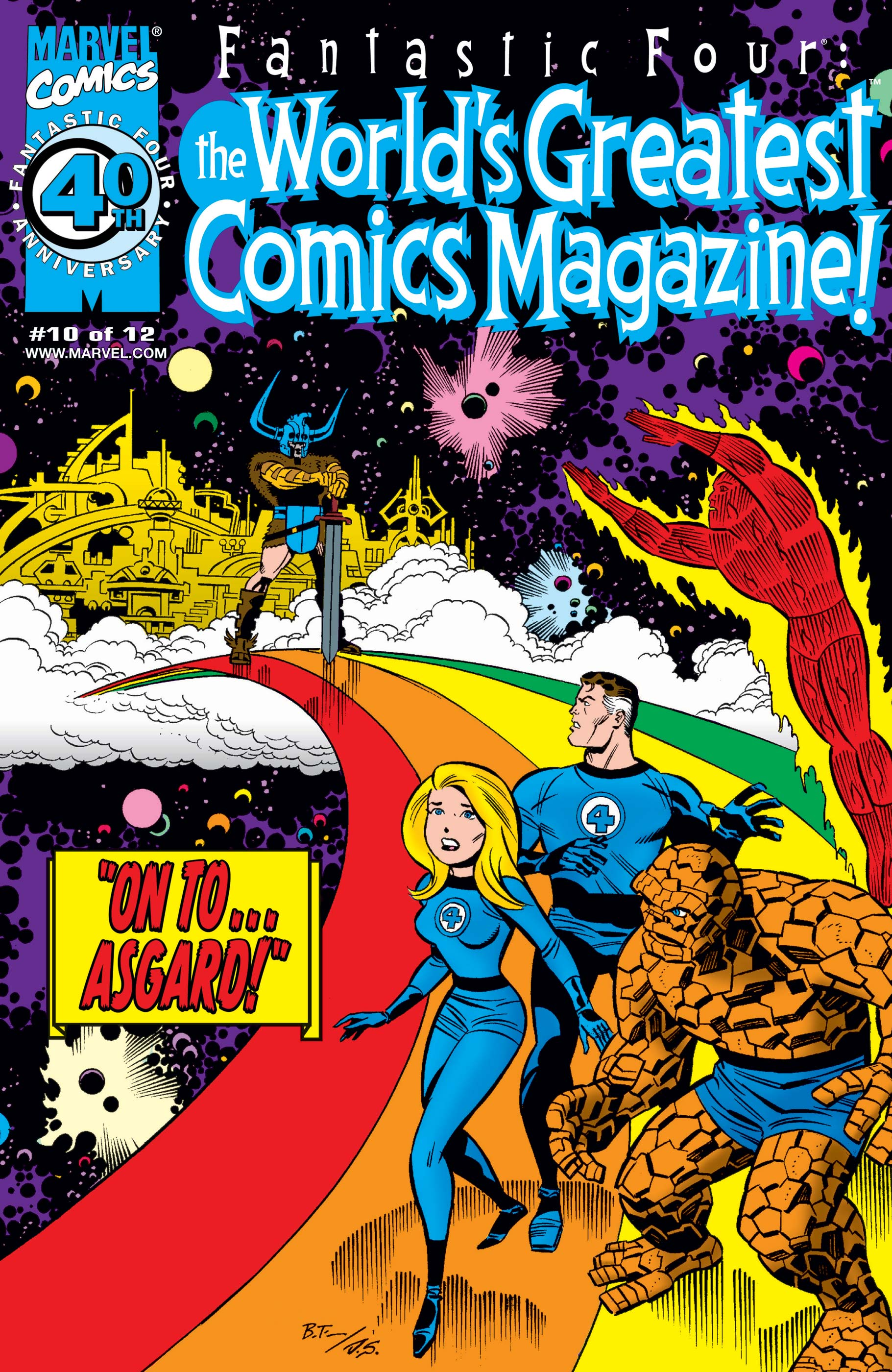Fantastic Four: World's Greatest Comics Magazine (2001) #10