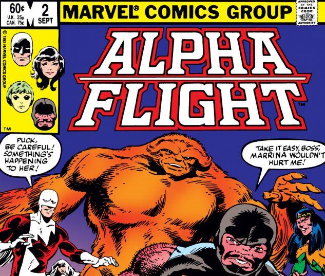 Alpha Flight (1983) #2