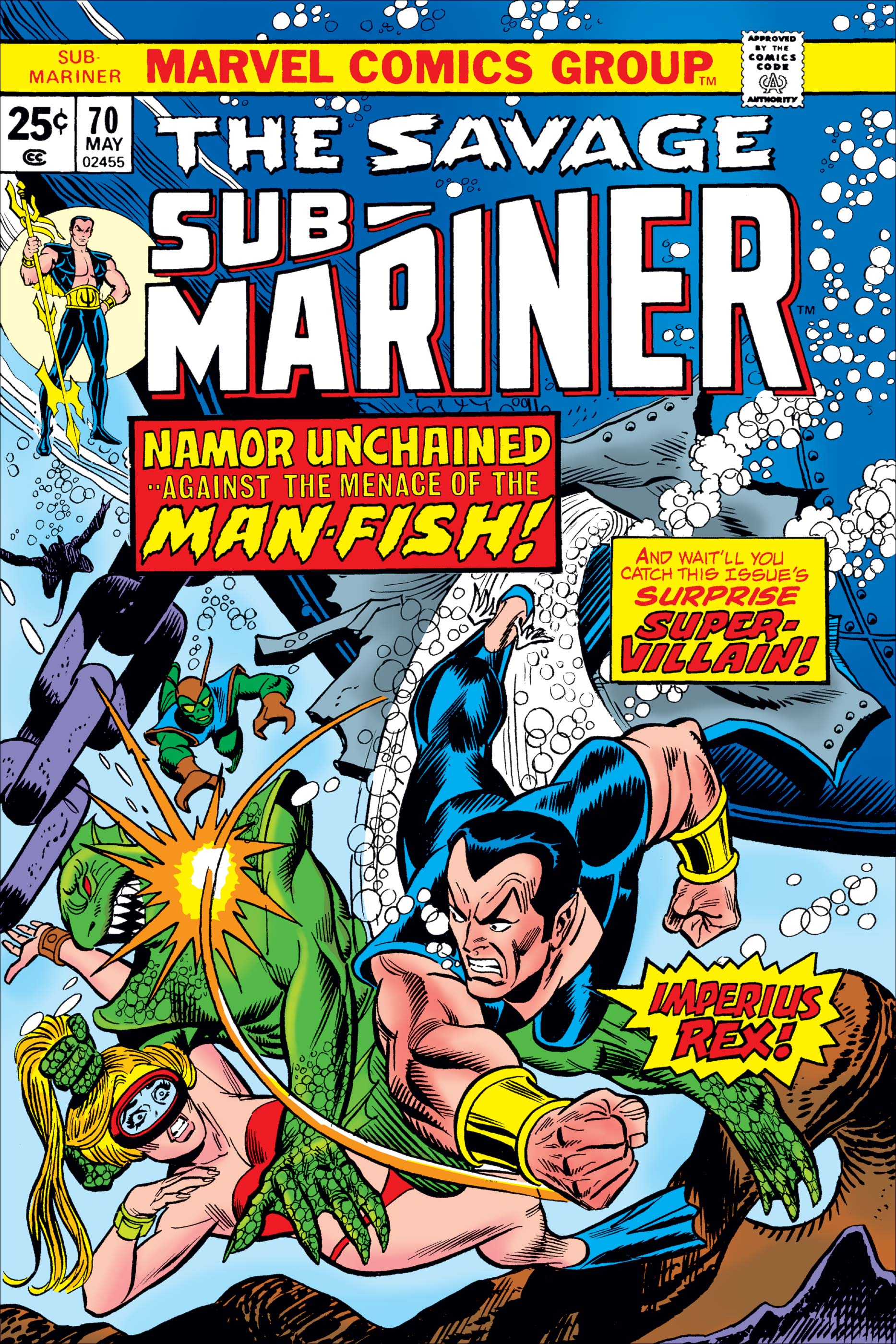 Sub-Mariner (1968) #70