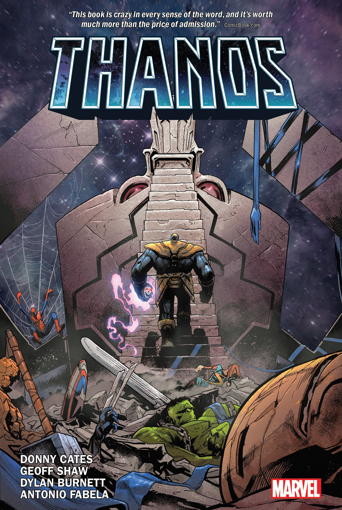 Thanos By Donny Cates (Hardcover)