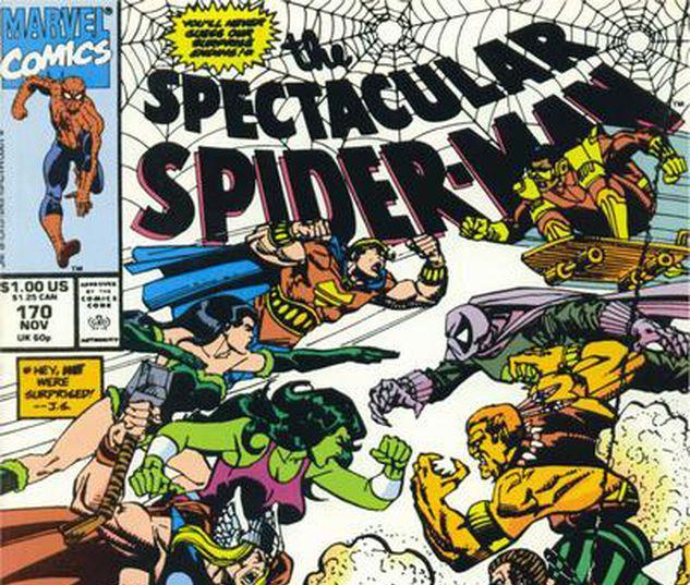 Spectacular Spider-Man #170