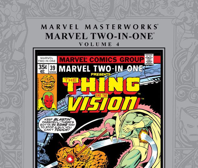 MARVEL MASTERWORKS: MARVEL TWO-IN-ONE VOL. 4 HC #4
