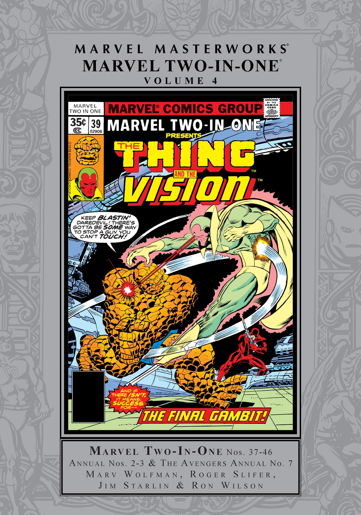 Marvel Masterworks: Marvel Two-in-One Vol. 4 (Hardcover)
