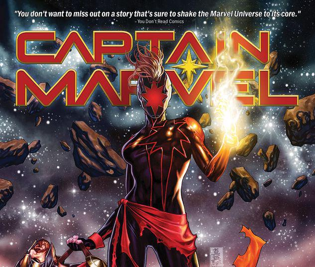 CAPTAIN MARVEL VOL. 3: THE LAST AVENGER TPB #3