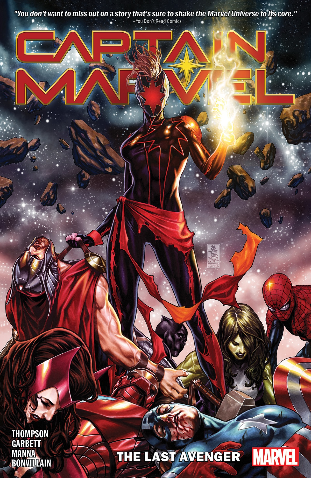 Captain Marvel Vol. 3: The Last Avenger (Trade Paperback)