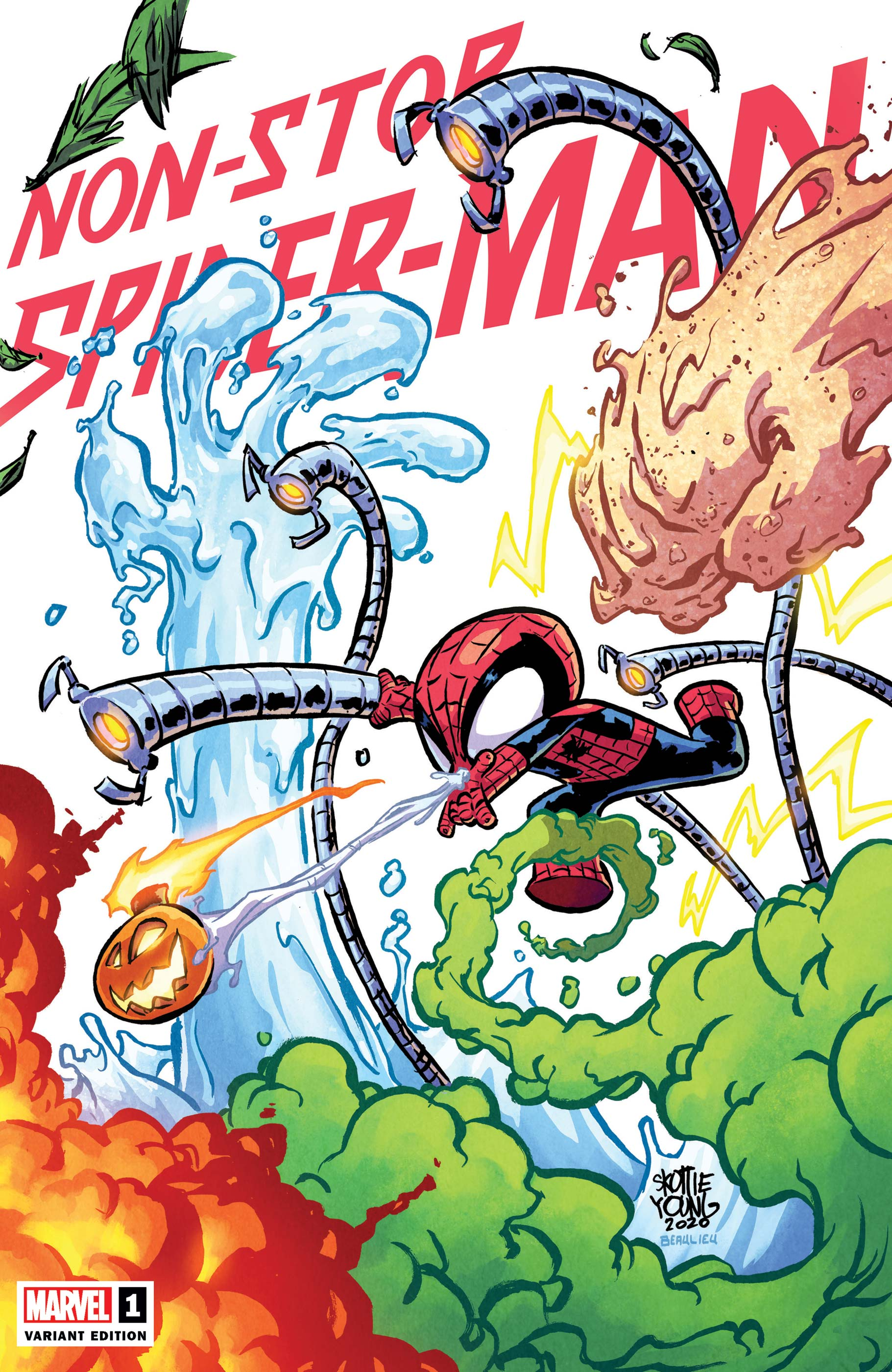 Non-Stop Spider-Man (2021) #1 (Variant)
