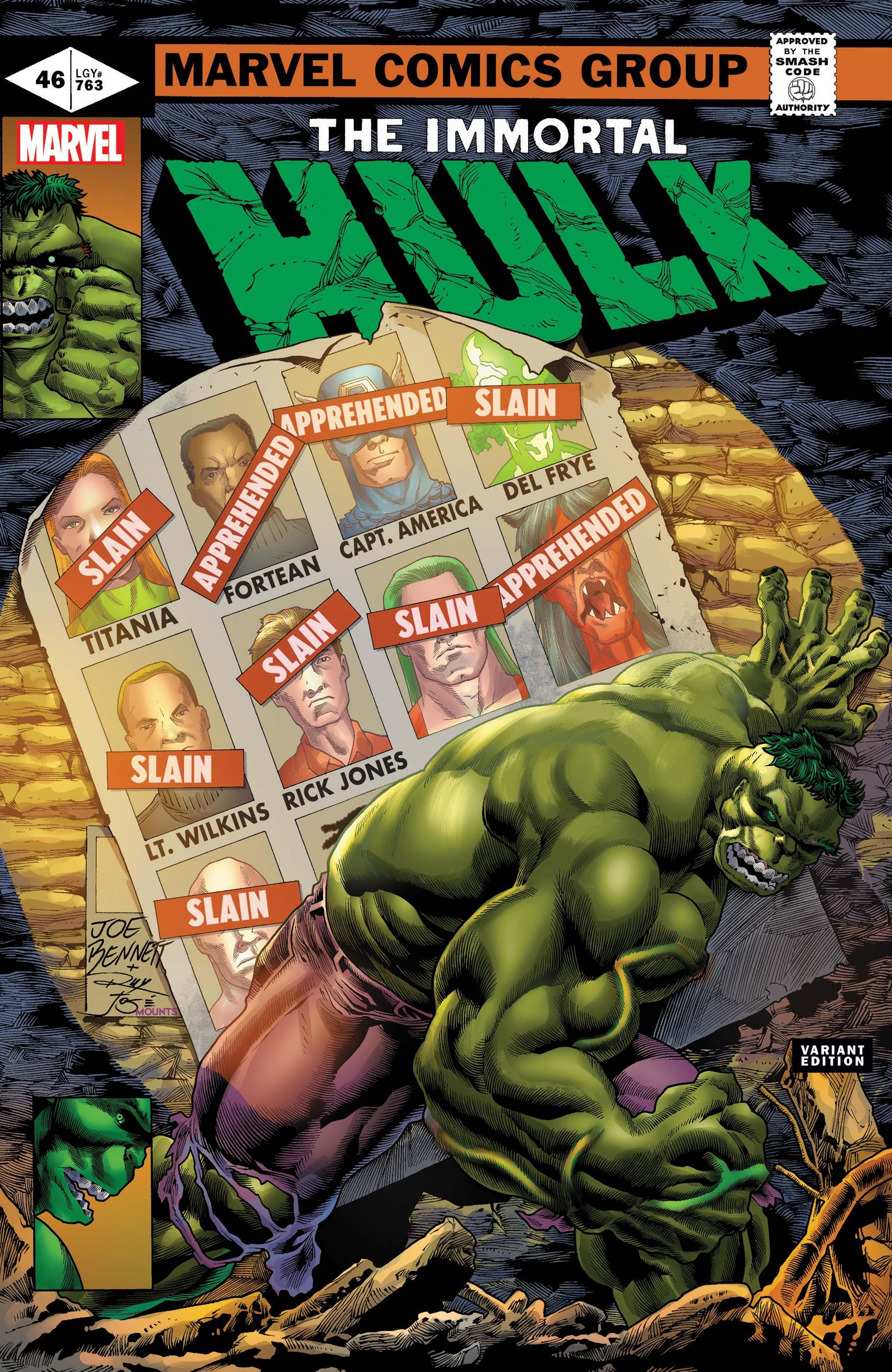 Immortal Hulk (2018) #46 (Variant)