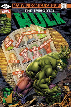 Immortal Hulk #46  (Variant)