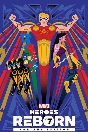 Heroes Reborn #7  (Variant)