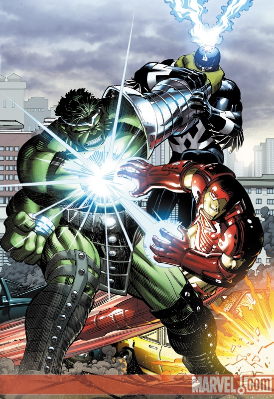 World War Hulk (2007) #1 (John Romita Jr. Variant)