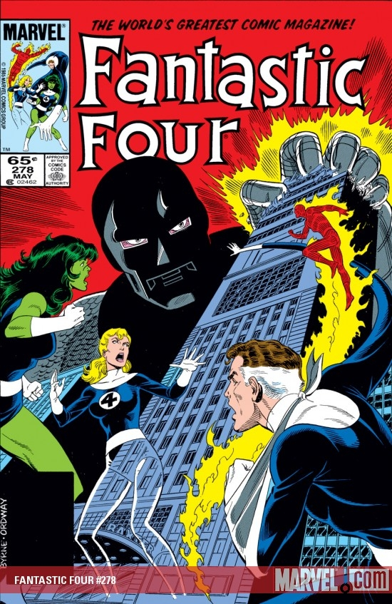 Fantastic Four (1961) #278
