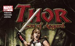 Thor: Son of Asgard #1 cover by Adi Granov