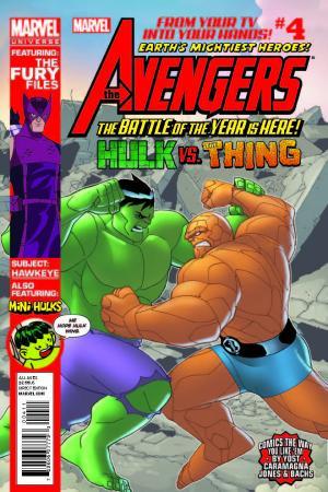Marvel Universe Avengers: Earth's Mightiest Heroes #4