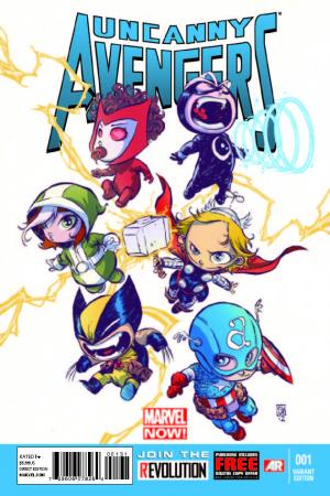 Uncanny Avengers (2012) #1 (Young Baby Variant)