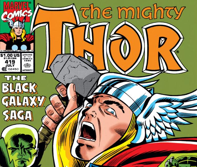 Thor (1966) #419 Cover