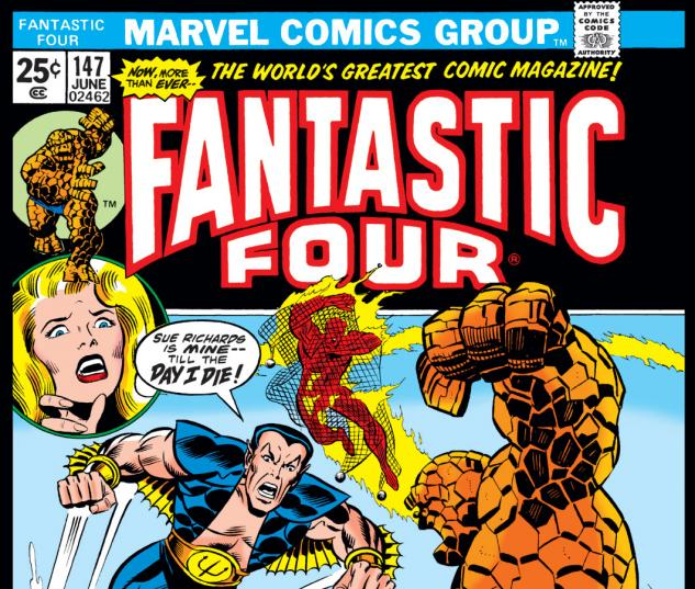 Fantastic Four (1961) #147 Cover