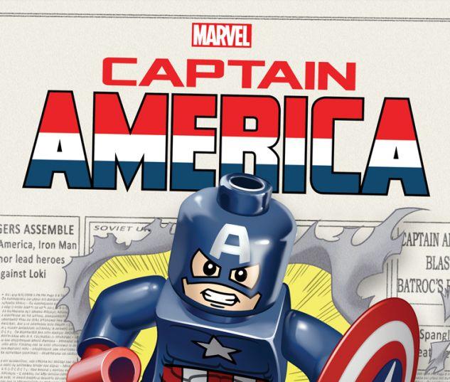CAPTAIN AMERICA 12 CASTELLANI LEGO VARIANT (NOW, WITH DIGITAL CODE)