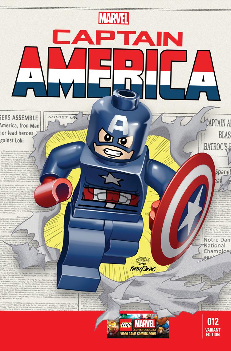 Captain America (2012) #12 (Castellani Lego Variant)