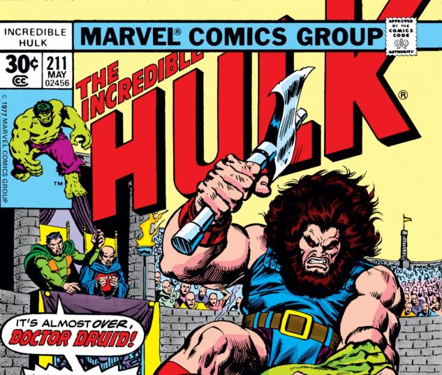 Incredible Hulk (1962) #211 Cover