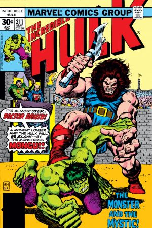 Incredible Hulk #211