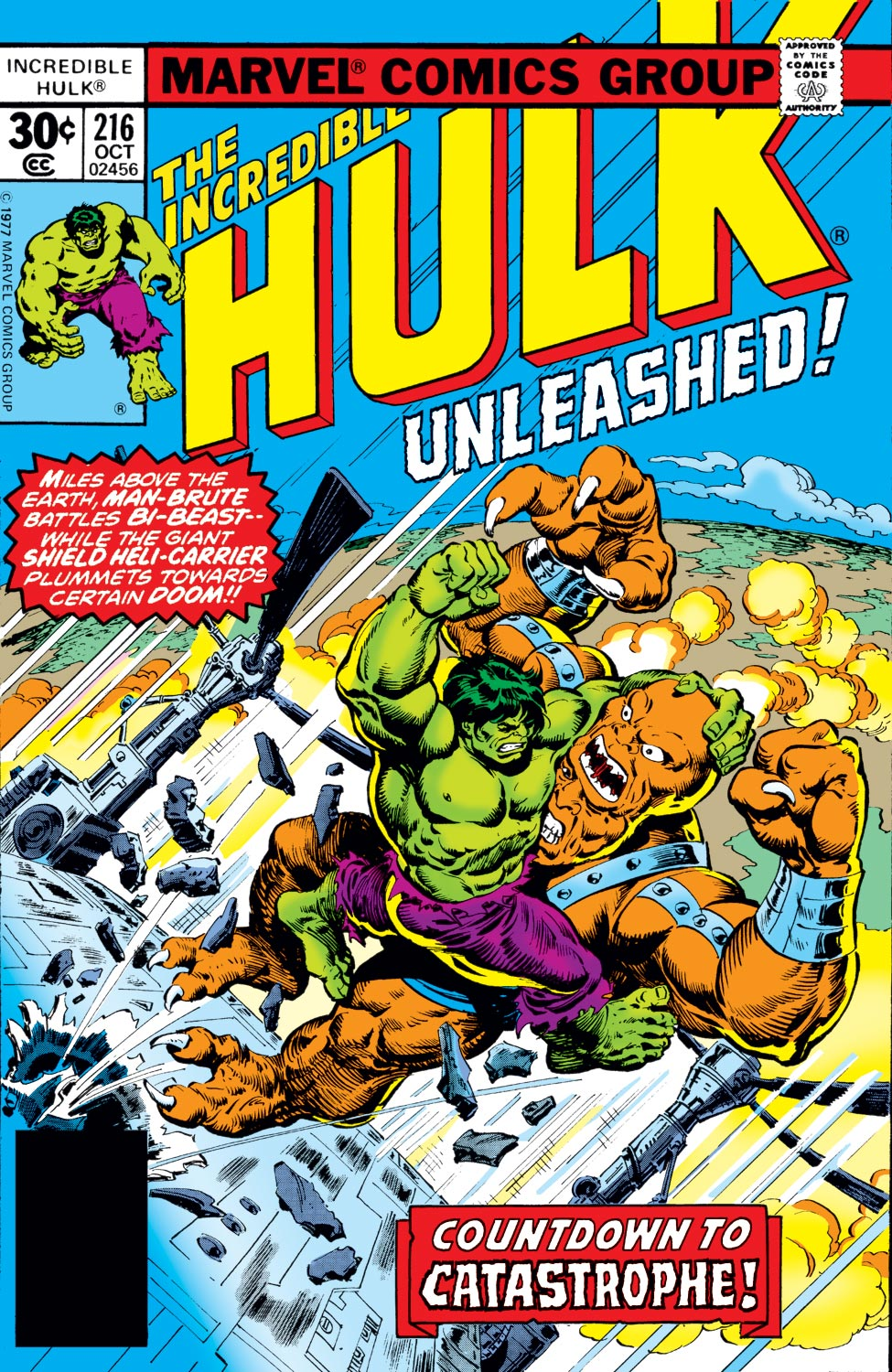 Incredible Hulk (1962) #216