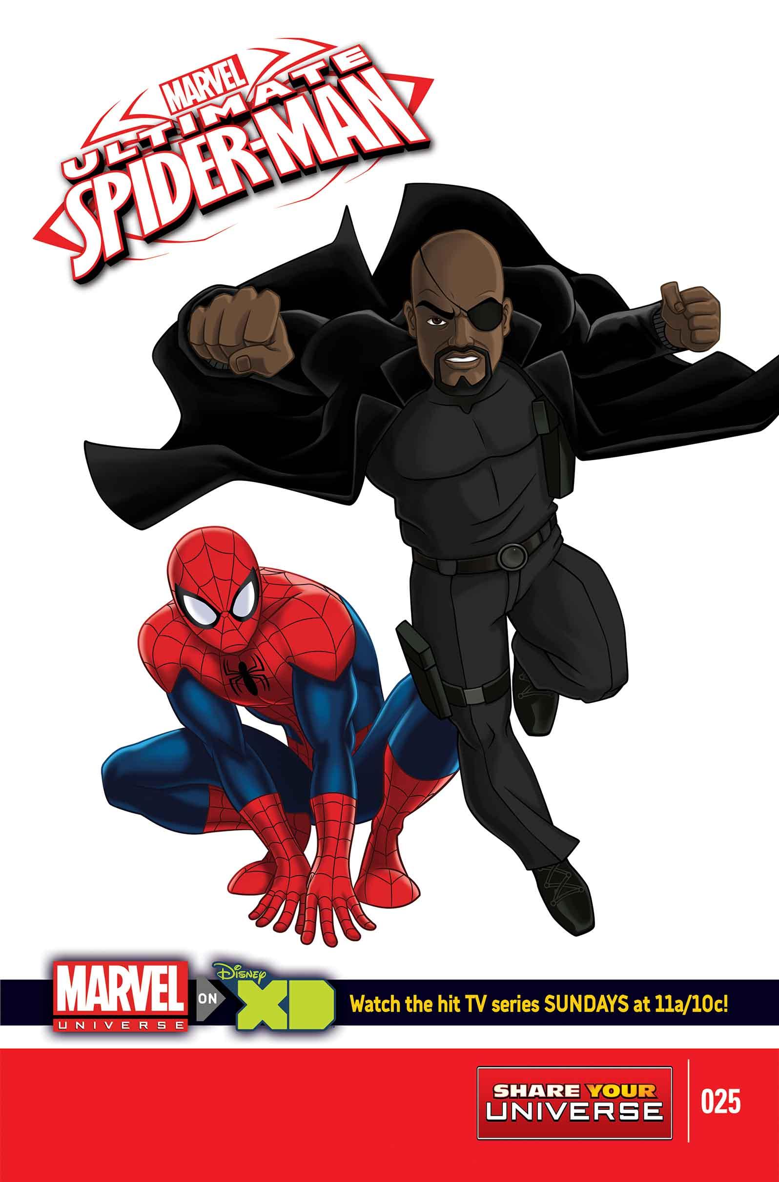 Marvel Universe Ultimate Spider-Man (2012) #25