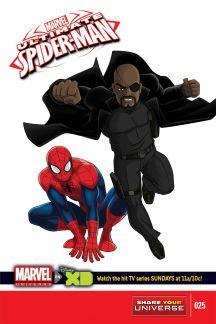 Marvel Universe Ultimate Spider-Man #25