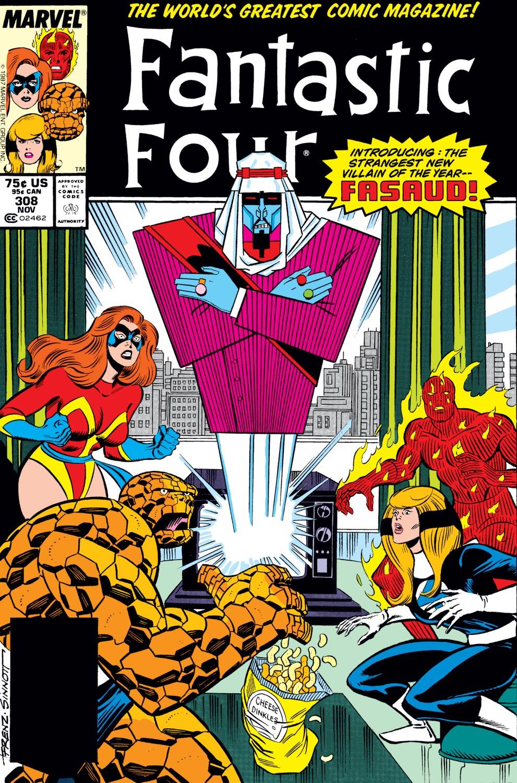 Fantastic Four (1961) #308
