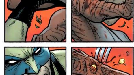 Marvel AR: Savage Wolverine #1 Art Evolution