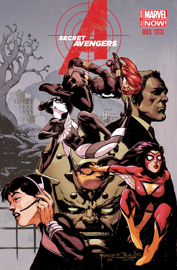 Secret Avengers (2014) #3 (Morales Variant)