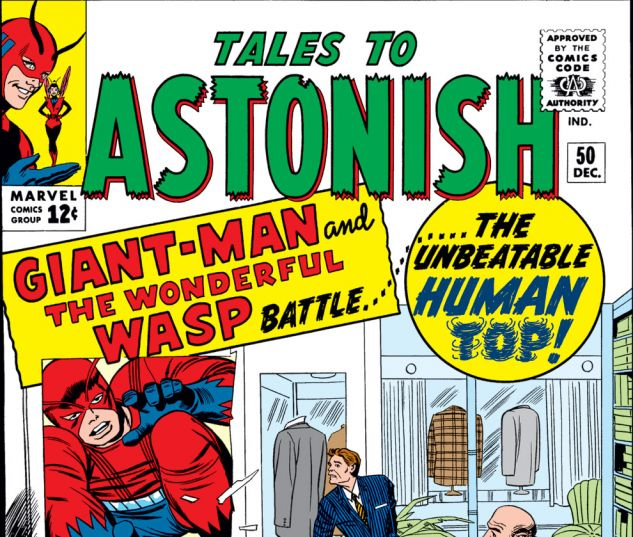 Tales to Astonish (1959) #50 Cover