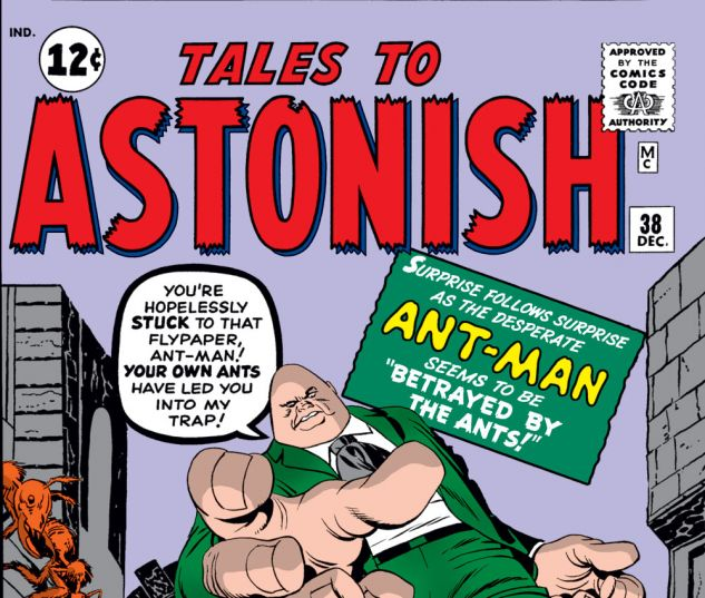 Tales to Astonish (1959) #38 Cover